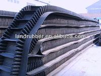 raised edge conveyor belt inclined belt Sidewall corrugated Conveyor Belt