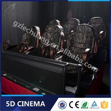 Alibaba Lechuang Hydraulic/Electric 3D 4D 5D 6D Cinema Theater Movie System Suppliers