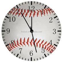 "New Baseball wall Clock 10"" will be nice Gift and Room wall Decor"