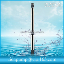 """High quatity hot selling!6"""" inch vertical multistage centrifugal deep well submersible electric water pump for ASIA RIDA1082"""