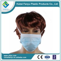 PP SBPP nonwoven disposable face mask for food service