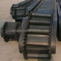 China gold supplier corrugated sidewall conveyor belt, industrial conveyor belt