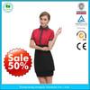 New Stytle restaurant waiter uniform,waiter uniform design,hotel waiter uniform