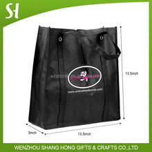 wholesale cheap reusable 80gsm nonwoven shopping grocery bags