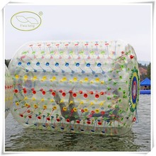 Top Quality PVC/TPU inflatable big balls,hot sale inflatable wheel water roller ball