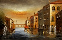 welcome Trading company venice picture order oil painting