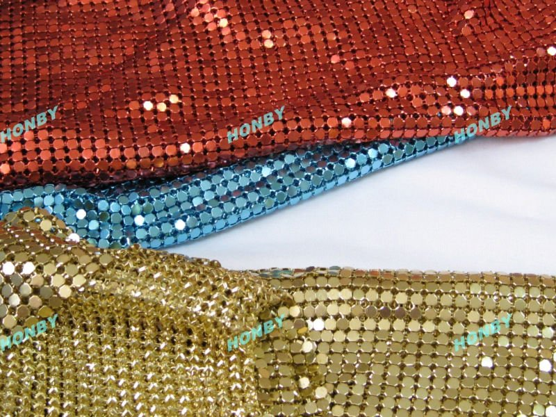 Colourful Metallic Curtain with 4mm sequin