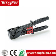 Tengfei manufacture direct price Network cable crimp tool/rj45 Crimping punch tools/Insertion/Stripping Tool made in china
