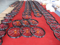 motorcycle spoked wheels and rims