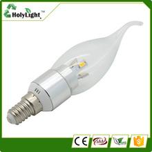 Best price 4w led candle lights led light bulbs