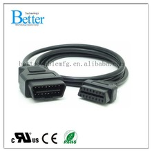 Automotive diagnostic cable for truck obd(M/F)