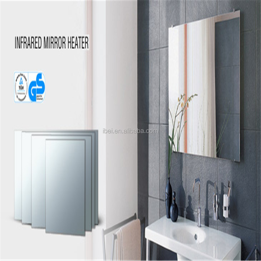 Wall ceiling mounted bathroom heaters radiant electric for Heat bathroom