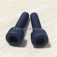 din912 10.9 grade allen bolt black carbon steel
