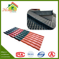 Factory price 100% Waterproof ASA chinese traditional roof tile
