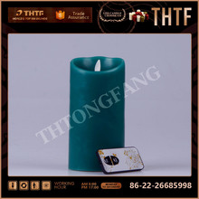 paraffin wax led flameless candle light for christmas tree