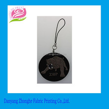 Wholesale soft PVC rubber keychain