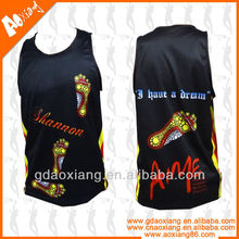 Colourful sublimated basketball jersey manufacturer