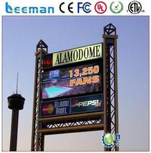 light-weight transparent led curtain screen 2015 LEEMAN LED mobile led advertising board