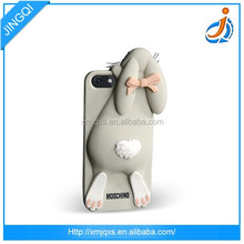 Skidproof animals design mobile soft custom silicone phone case