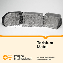 High purity Rare Earth Metals - Terbium Metal Tb 99.9% raw material