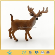 Alive mini plastic animal product the white tailed deer toy for sale