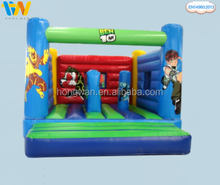 Happy commercial inflatable bouncer inflatable jumping bouncer kids toys