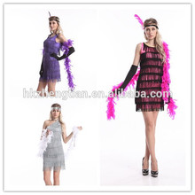 Leading China Factory S-6XL plus size Sexy Flapper 1920's Costume Womens Halloween Costume size:s-2xlinstyles fancy dress