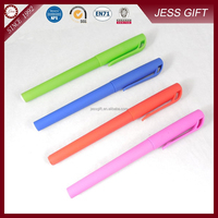 Promotional plastic pen cello gel pens colorful gel ink pen for promotion