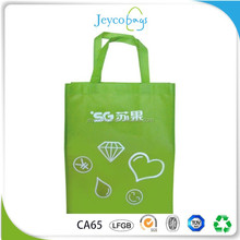 JEYCO BAGS Custom printed pp non woven shopping tote bag with CA65 test