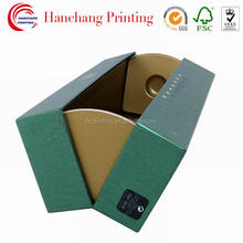 Custom Design Gift Box Cardboard Paper Wine Packaging
