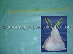 degradable plastic trash bags drawstring high quality low price