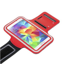 Light up your life using this sport armband dual color phone case for samsung galaxy S5 with waterproof sweatproof dustproof
