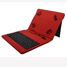 For IPAD/Sumsung standard universal wired keyboard case with 7/8/10.1inch