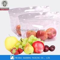 Custom Printing Zipper Pouch Plastic Packaging Packing Bags for Fruit