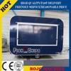 2015 hot sales best quality motorcycle food trailer fiber glass food trailer crepe trailer