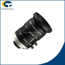 LEM0616MP5 Hot Sale 5 Megapixel 1/1.8inch F1.6 C-mount Lens 6mm