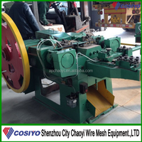 High Speed Automatic Coil Nails Making Machine