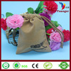 Custom Jewelry Drawstring Fabric Velvet Pouch Bag