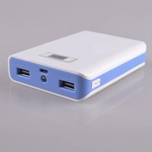External Battery Charger Dual USB 200000mah Solar Power Bank Pack