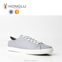LACE UP PU valvanized men shoes GREY colour