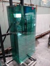 8mm clear tempered glass for table tops and furniture