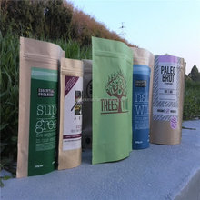 Super quality manufacture kraft paper bag packaging for seed