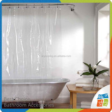 Bath Pvc Wholesale Transparent Shower Curtain