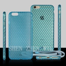 fashional style transparent back cover for iphone 5s 6
