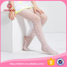 Fashion red polka dot cheap printed picture pantyhose wholesale