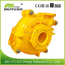 Corrosion and Abrasion Resistant Single Suction Centrifugal Slurry Pump