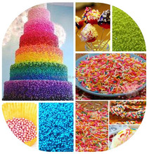 Edible Pretty Cake Decoration in mix colour of Sugar Sprinkle