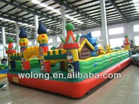 inflatable playground, inflatable bounce round