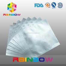 Pharmaceutical grade aluminum foil bags for pill press machine , tablet press