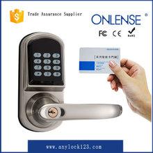 smart card electronic coded door lock